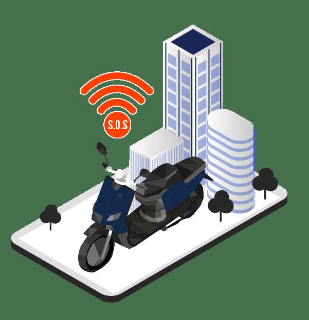 ecall motos